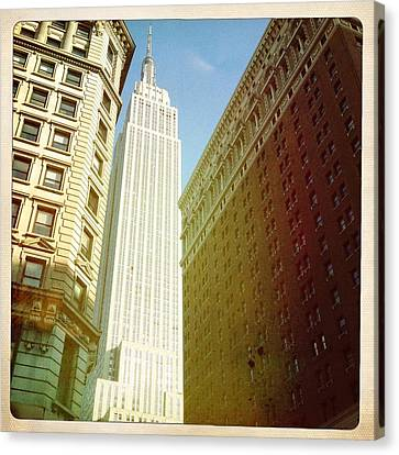 Empire State Building Canvas Print by Ben Peterson