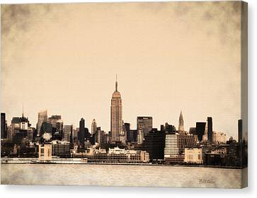 Empire State Building Canvas Print by Bill Cannon