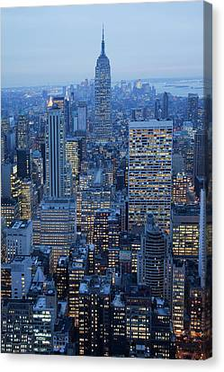 Empire State Building Canvas Print by Buena Vista Images
