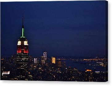 Empire State Building3 Canvas Print