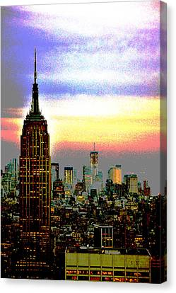Empire State Building4 Canvas Print
