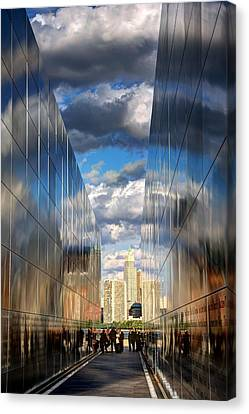 Empty Sky Memorial Canvas Print by John Loreaux
