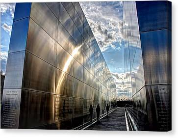 Empty Sky Memorial Nj Canvas Print by John Loreaux