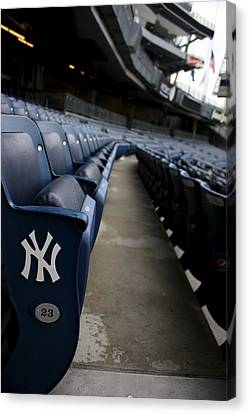 Empty Stadium 1 Canvas Print