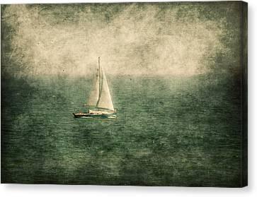 Empty Yacht  Canvas Print by Svetlana Sewell