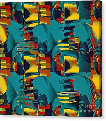 En Formes 02 Canvas Print by Aimelle