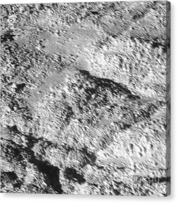 Enceladus Surface Canvas Print by NASA / Science Source