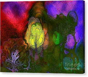 Enchanted Forest 3 Canvas Print