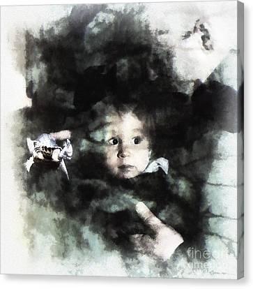 Encounters Canvas Print by Arne Hansen