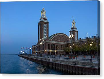 Sky Line Canvas Print - End Of Navy Pier by Twenty Two North Photography