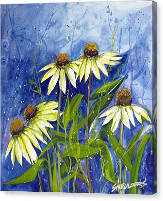 End Of Summer Canvas Print by John Smeulders