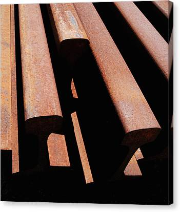 End Of The Line Canvas Print by Steven Milner