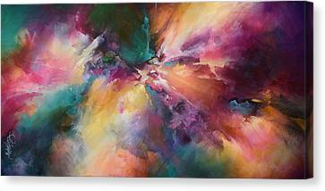 Random Shape Canvas Print - 'end Of The Rainbow' by Michael Lang