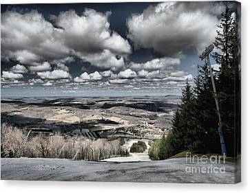 End Of The Season Canvas Print by Adam Jewell