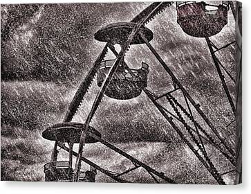 End Of The Season Canvas Print by Bob Orsillo