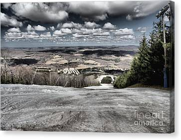 Endless Clouds Canvas Print by Adam Jewell