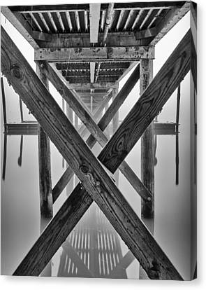 Endless Pier Canvas Print by Brian Young