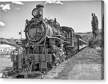 Canvas Print featuring the photograph Engine 593 by Eunice Gibb