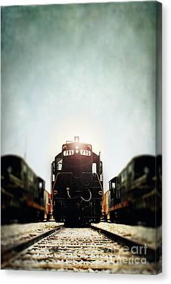 Engine795 Canvas Print by Stephanie Frey