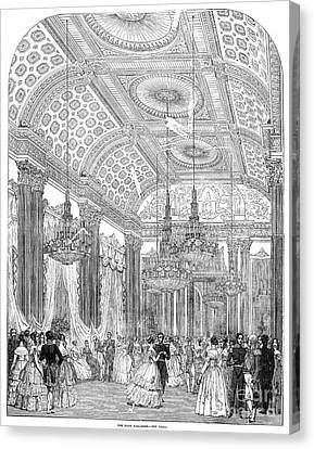 England - Royal Ball 1848 Canvas Print by Granger