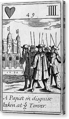 Punishment Canvas Print - England: Popish Plot by Granger