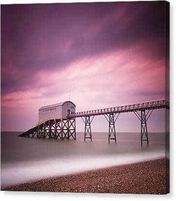 England Selsey Canvas Print by Nina Papiorek