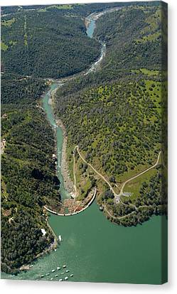 Englebright Dam Canvas Print by Gary Rose