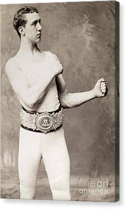 English Boxer, C1883 Canvas Print by Granger