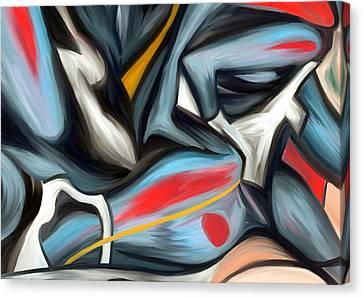 Painter Canvas Print - Enigma by Amarok A