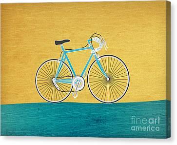 Enjoy The Ride Canvas Print by Linda Tieu