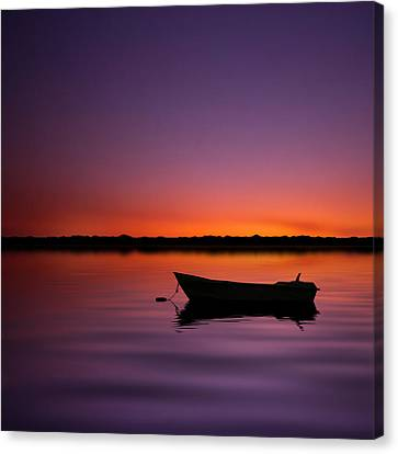 Enjoying Serenity Canvas Print
