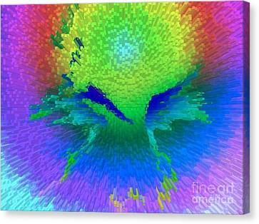 Enlightened Face Canvas Print by Robert Haigh
