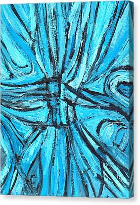 Entangled Cross Canvas Print by Kazuya Akimoto