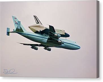 Enterprise 6 Canvas Print by S Paul Sahm