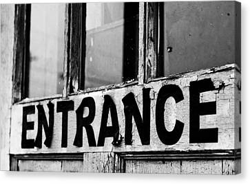 Entrance Canvas Print by Off The Beaten Path Photography - Andrew Alexander
