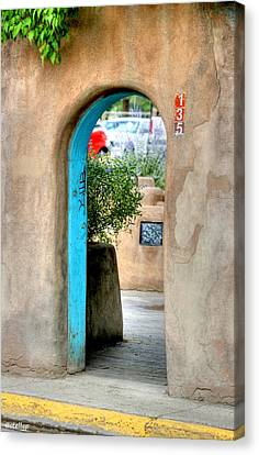Entrance Canvas Print by Stellina Giannitsi