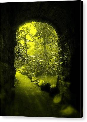 Entrance To Fairyland Canvas Print by Maria Scarfone