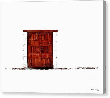 Entrance Canvas Print by Xoanxo Cespon