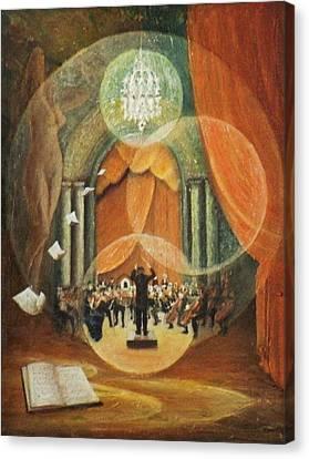 Envolee Lyrique Canvas Print by Frank Godille