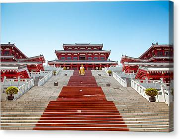 Epang Palace Canvas Print by Pan Hong
