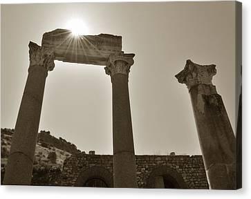 Ephesus 2011 Ad Canvas Print by Terence Davis