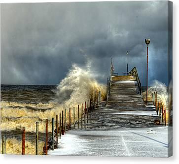 Erie Storm Canvas Print