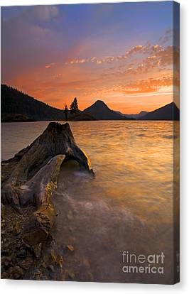 Rimrock Canvas Print - Eroded Away by Mike  Dawson