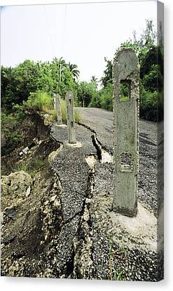 Subsoil Canvas Print - Erosion by David Nunuk