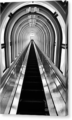 Abstract Movement Canvas Print - Escalation by Dean Harte