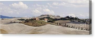 esert Landscape in La Crete Sinesi Canvas Print by Jeremy Woodhouse