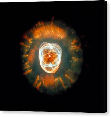 Eskimo Nebula Canvas Print by Nasaesastscia.fruchter, Ero Team