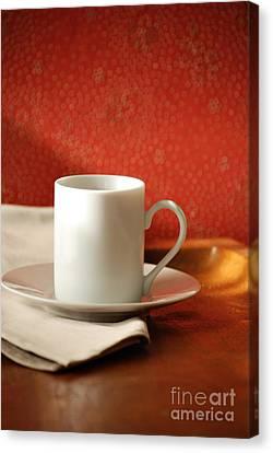 Espresso Cup Canvas Print