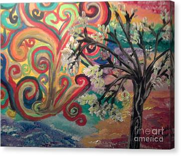 Essence Of Spring. Canvas Print by Catherine Herbert