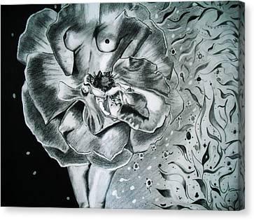 Essence Canvas Print by Saheed Fawehinmi